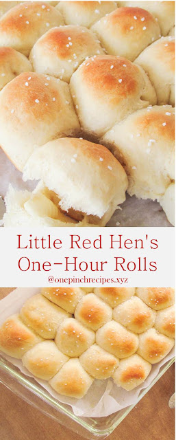 Little Red Hen's One-Hour Rolls