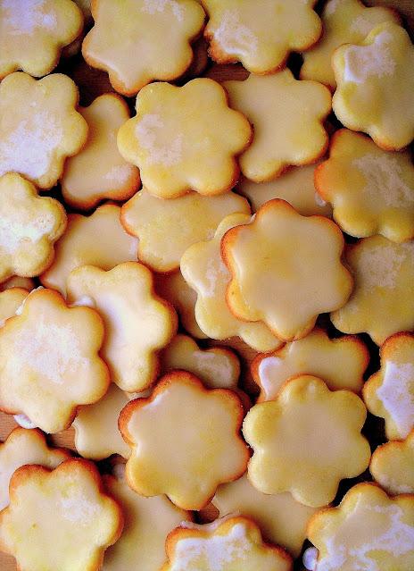Cytrynowe ciasteczka przepis