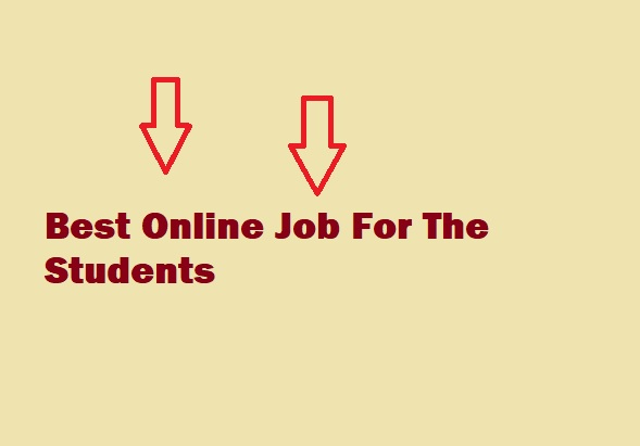 Best Online job for student