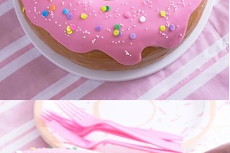 Gіаnt Dоnut Cake!