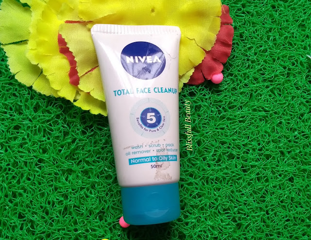 Nivea Total Face Cleanup Review