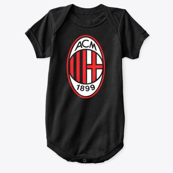 Buy AC Milan Baby Onesie   Awesome Quality With Milan Logo