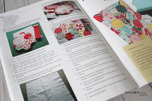 English Paper Piecing Book by Carolina Moore