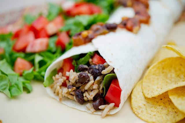 Receta: Burritos de Frijol