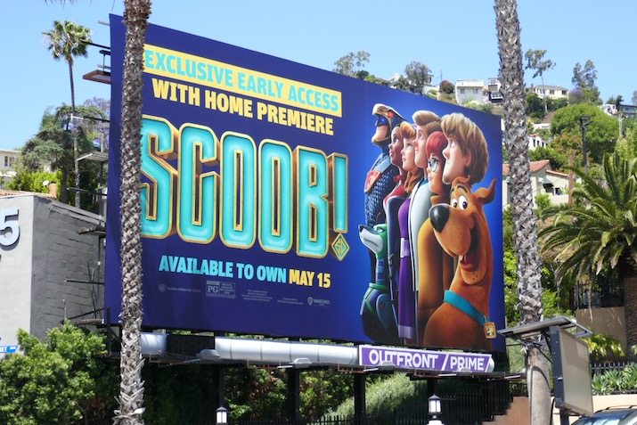 Scoob early access billboard