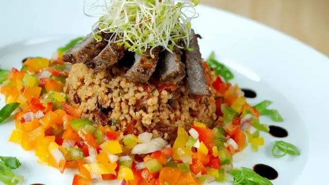 Fillet Beef Couscous Salad