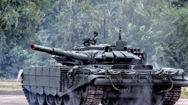 Rusia Memesan Tank Tempur Tanpa Awak Shturm