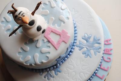 torta, sweet table e altre idee per unna festa a tema frozen
