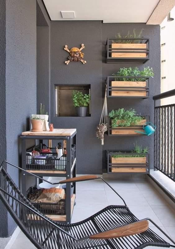 Idea Dekorasi Balkoni Rumah Yang Simple