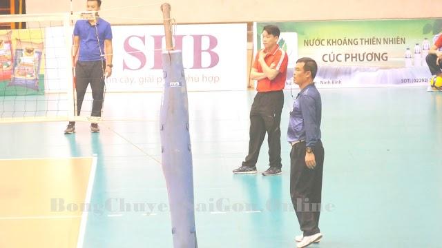 HLV Thái Thanh Tùng trễ hẹn với Doveco Ninh Bình