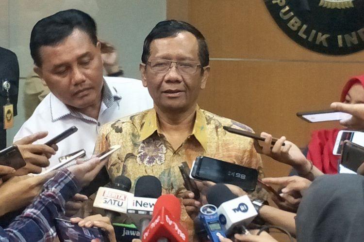 Mahfud MD Sebut Tak Ada Pelanggaran Konstitusi Selama Era Kepemimpinan Jokowi