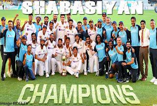India Creates History In Cricket