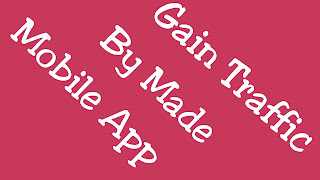 Gain Visitor to made a blog Android app