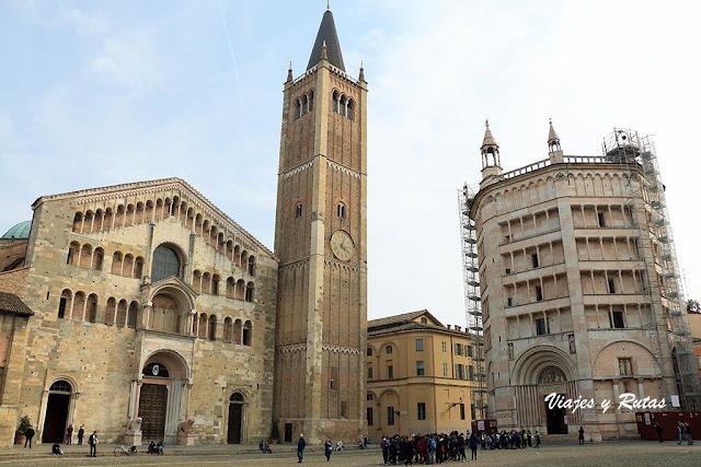La Piazza del Duomo de Parma