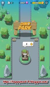 Hey Wassup Guys inward this postal service We are going to portion amongst you lot an amazing Latest  Download Crazy Dino Park 1.64 (MOD, Unlimited Coins) gratis on android