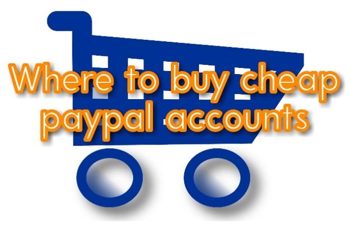 buy cheap paypal accounts