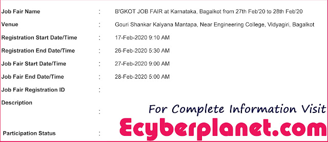 Bagalkot Job Fair