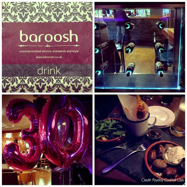 Cocktails at Baroosh Bishop's Stortford