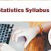 GATE Statistics Syllabus 2020 - Check Here Details
