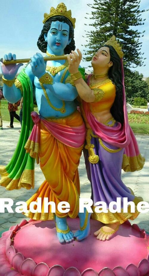 Cute Kanha Ji Radhe Radhe Besutiful Good Morning Picture