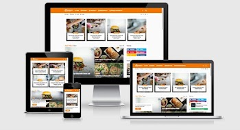 Foodify Elegant Food-Restaurant Responsive Blogger Template
