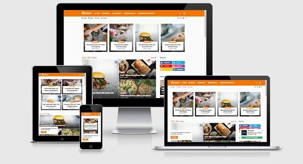 Foodify Elegant Food-Restaurant Responsive Blogger Template