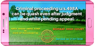 Criminal proceeding can be quash even after judgment and while pending appeal