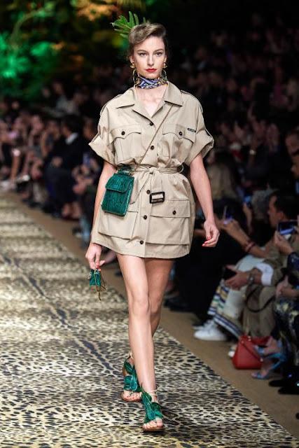 Модное платье весна-лето 2020 13