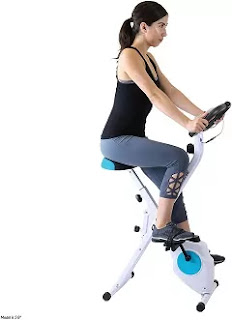 Xspec Foldable Workout Exercise Bike