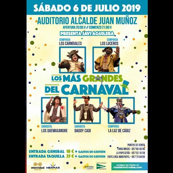 Los más grandes del Carnaval (Cabra, Córdoba)