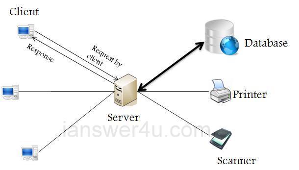 advantages and disadvantages of star topology diagram suzuki fiero bike wiring client server network architecture ~ i answer 4 u