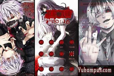 download tema xiaomi tokyo ghoul kaneki ken
