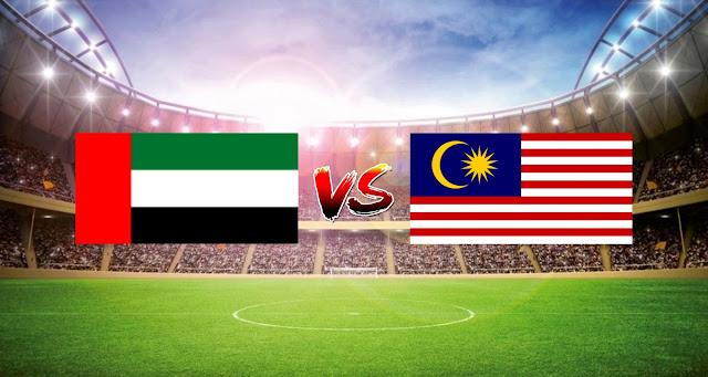 Live Streaming UAE vs Malaysia 4.6.2021 Kelayakan Piala Dunia