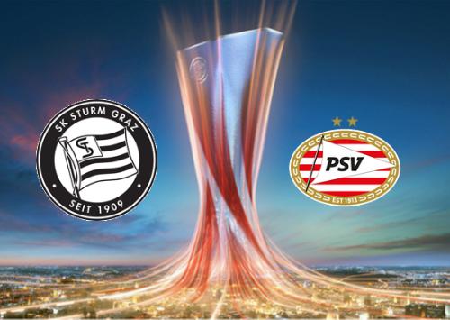 Sturm Graz vs PSV Highlights 30 September 2021