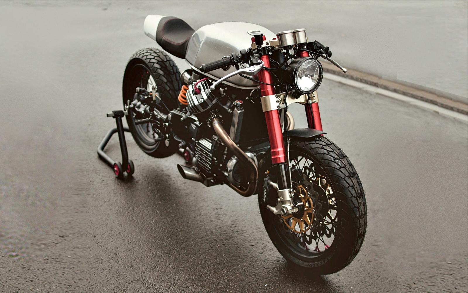 cx500sacha lakic & george's garage   inazuma café racer