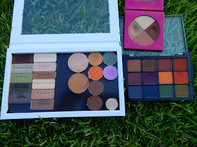 Eyeshadow Palettes Used - www.modenmakeup.com
