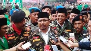Komandan Banser Minta Semua Anak Buahnya Sukseskan Pilkada di Seluruh Nusantara