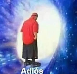Sticker Meme template adios HD
