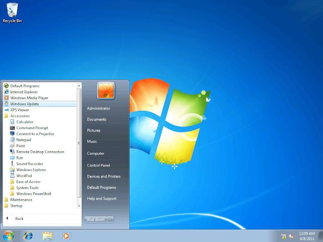تنزيل ويندوز سفن كامل للكمبيوتر من مايكروسوفت