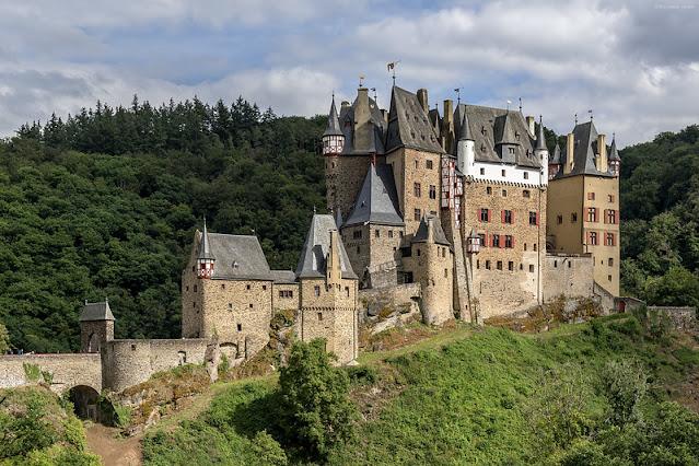Burg Eltz - Roteiro pelo Rio Mosel (Alemanha) com vinícolas