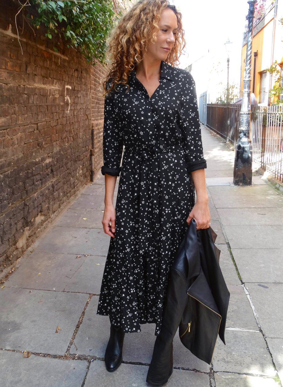 my midlife fashion, baukjen Isabella midi dress