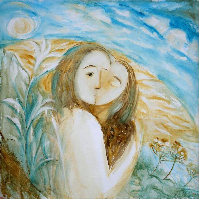 Необычные и мечтательные картины. Natalya Boychuk
