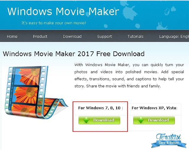 Download Windows Movie Maker 2017 untuk Windows 7 8 10 - teratasi-com