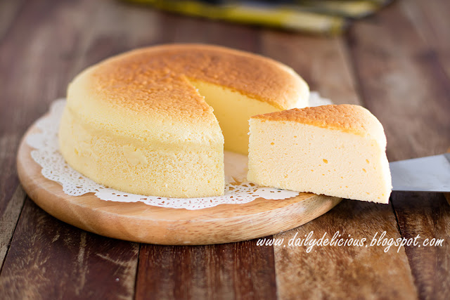 Japanese Cotton Cheese Cake Mat Gebu