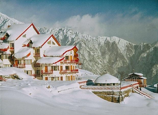 Auli Gulmarg snowfall brfbari ice burg