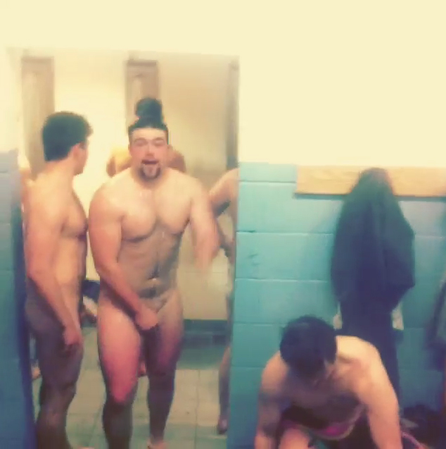 Watch: Gay Rugby Players Strip in Locker Room Shoot - Out