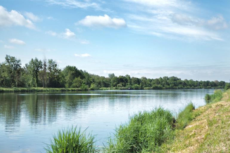Vélo Francette - voie verte entre Caen et la mer