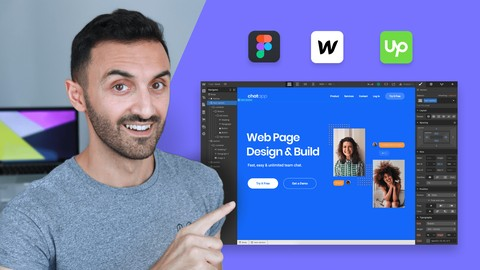 Complete Web Design: from Figma to Webflow to Freelancing