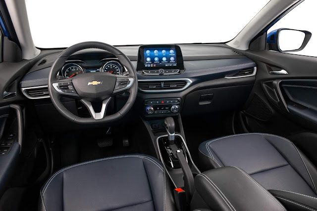 Novo Chevrolet Tracker 2021 - interior