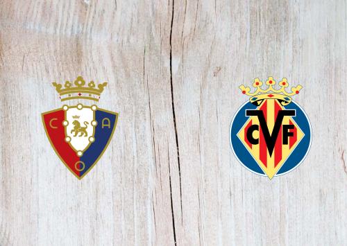 Osasuna vs Villarreal -Highlights 5 October 2019